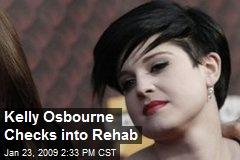 Kelly Osbourne Checks into Rehab
