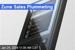 Zune Sales Plummeting