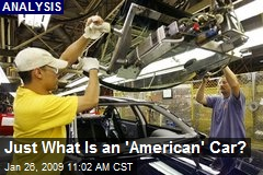 Just What Is an 'American' Car?