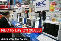 NEC to Lay Off 20,000