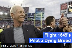 Flight 1549's Pilot a Dying Breed