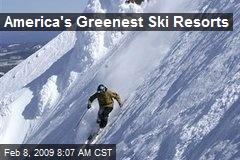 America's Greenest Ski Resorts