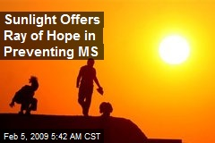 Sunlight Offers Ray of Hope in Preventing MS