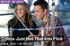 Critics Just Not That Into Flick