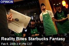 Reality Bites Starbucks Fantasy