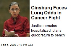Ginsburg Faces Long Odds in Cancer Fight