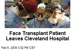Face Transplant Patient Leaves Cleveland Hospital