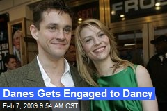 Danes Gets Engaged to Dancy