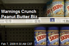 Warnings Crunch Peanut Butter Biz
