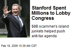 Stanford Spent Millions to Lobby Congress