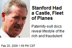 Stanford Had a Castle, Fleet of Planes