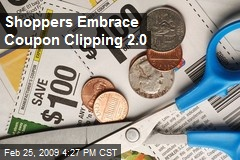 Shoppers Embrace Coupon Clipping 2.0