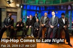 Hip-Hop Comes to Late Night