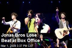 Jonas Bros Lose Beat at Box Office