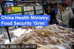 China Health Ministry: Food Security 'Grim'