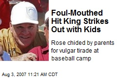 Foul-Mouthed Hit King Strikes Out with Kids
