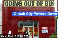 Circuit City Powers Down