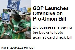 GOP Launches Offensive on Pro-Union Bill