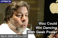 Woz Could Win Dancing With Geek Power