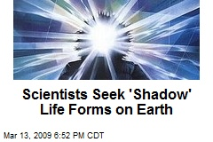 Scientists Seek 'Shadow' Life Forms on Earth