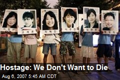 Hostage: We Don't Want to Die