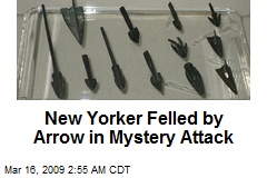 New Yorker Felled by Arrow in Mystery Attack