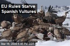 EU Rules Starve Spanish Vultures