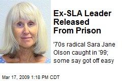 Ex-SLA Leader Released From Prison