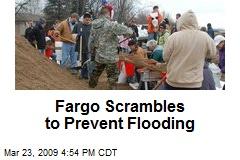 Fargo Scrambles to Prevent Flooding