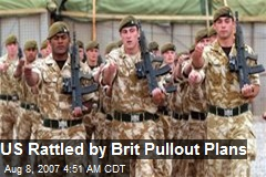 US Rattled by Brit Pullout Plans