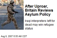 After Uproar, Britain Reviews Asylum Policy