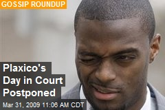 Plaxico's Day in Court Postponed
