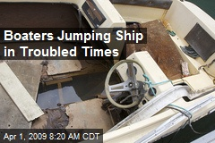 Boaters Jumping Ship in Troubled Times