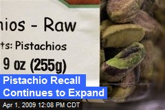 Pistachio Recall Continues to Expand