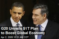 G20 Unveils $1T Plan to Boost Global Economy