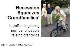 Recession Squeezes 'Grandfamilies'