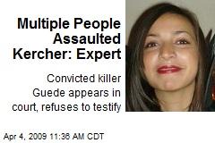 Multiple People Assaulted Kercher: Expert