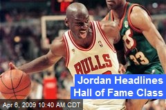 Jordan Headlines Hall of Fame Class