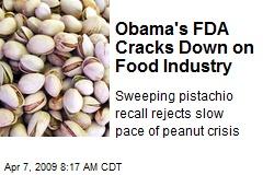 Obama's FDA Cracks Down on Food Industry