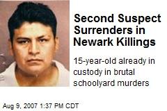 Second Suspect Surrenders in Newark Killings