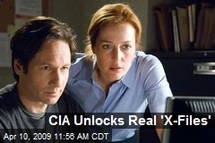 CIA Unlocks Real 'X-Files'