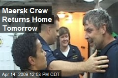 Maersk Crew Returns Home Tomorrow