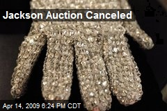 Jackson Auction Canceled