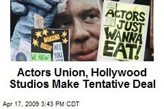 Actors Union, Hollywood Studios Make Tentative Deal