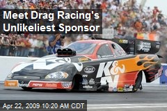 Meet Drag Racing's Unlikeliest Sponsor