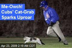Me-Owch! Cubs' Cat-Grab Sparks Uproar