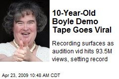 10-Year-Old Boyle Demo Tape Goes Viral