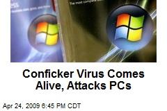 Conficker Virus Comes Alive, Attacks PCs