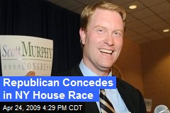 Republican Concedes in NY House Race