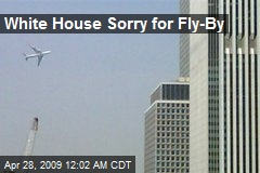 White House Sorry for Fly-By